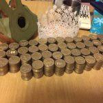 【画像】3年くらい貯めた500円玉貯玉解放するよーwwwwwwwwww