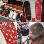 【画像】ルイ・ヴィトンがスケーターブランドとコラボするも、ものすごいパチ物感でワロタwwwwwwwww
